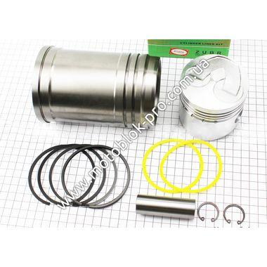 Поршень к-кт 80мм STD (с выборкой под клапана) + гильза + манжеты (R175/180N)