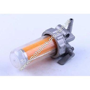 Топливный кран (стакан пластик) (R195)