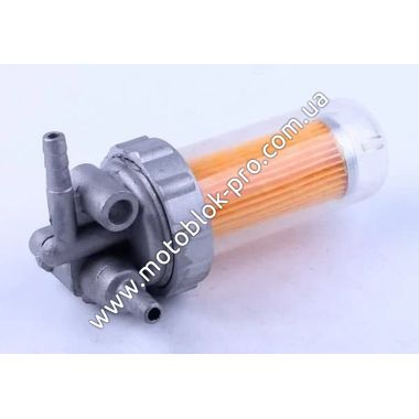Топливный кран (стакан пластик) (R180)