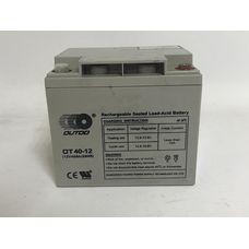 Аккумулятор 40Ah-12v OUTDO (A14) (19х16х17 cм) (R180, R190, R195) гелиевый