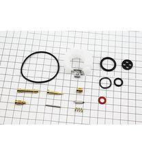 Ремонтный комплект карбюратора, 13 деталей+поплавок (168F/170F)