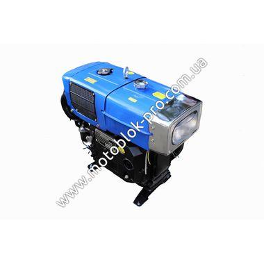 Двигатель мотоблочный в сборе + стартер 15л.с. (завод ZUBR) ZH1100 | ???????? ???