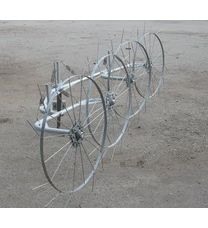 Грабли-ворошилки Ярило (солнышко, 1,5 м, 2 колеса)