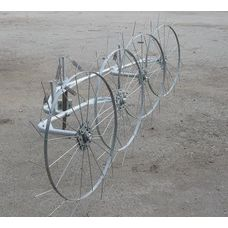 Грабли-ворошилки (Cолнышко) ТМ Ярило (1,5 м, 2 колеса)