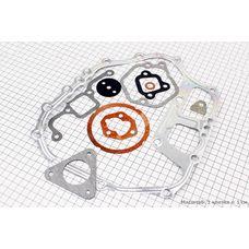 Прокладки двигателя Витязь/Кама комплект (11шт) (178F)