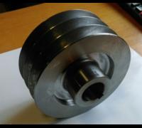Шкив 3х-ручейковый (Б) (Ø25 мм внутренний, Ø76 мм внешний) (177F/178F/186F)