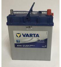 Аккумулятор 40Ah-12v VARTA BD (A14) (19х13х23 cм) (R180, R190, R195) кислотный