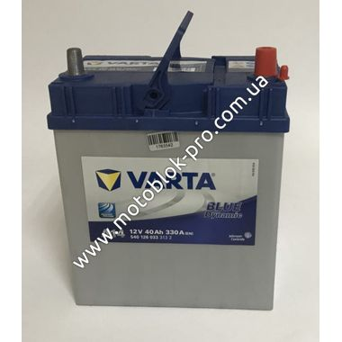 Аккумулятор 40Ah-12v VARTA BD (A14) (187х127х227мм)