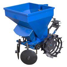 Картофелесажалка к мототрактору/тяжелому мотоблоку (Полтава) с бункером для удобрений