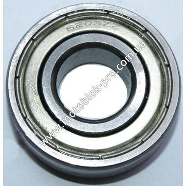 Подшипник натяжных роликов 6203 (мототрактор)