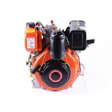 Двигатель Зубр 178FE (шпонка Ø25 mm) с электростартером