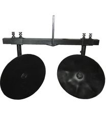 Окучник дисковый ПД-6 Ø 360 регулируемый (универсальный) + двойная сцепка