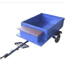 """Прицеп-самосвал (эконом) 125х105 см (в комплекте колеса 3.5-8"""")"""
