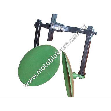 Окучник дисковый Булат Ø 410 мм регулируемый на двух подшипниках