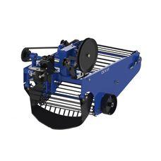 Картофелекопатель вибрационный транспортерный под мототрактор с гидравликой (КК11)