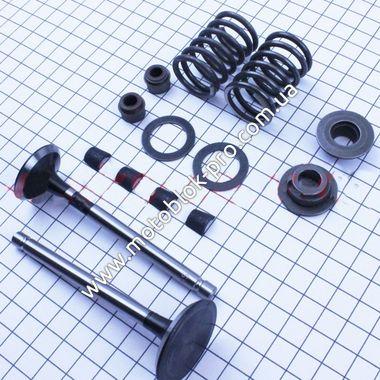 Клапан впускной, выпускной комплект 14 шт (186F)