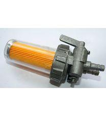 Кран топливный в сборе (пластик стакан) (Вариант B) (R190)
