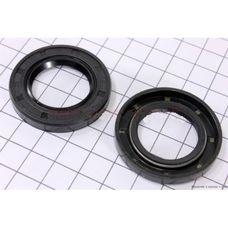 Сальники 25х41,25х6 (7) коленвала, комплект 2 шт (168F/170F)