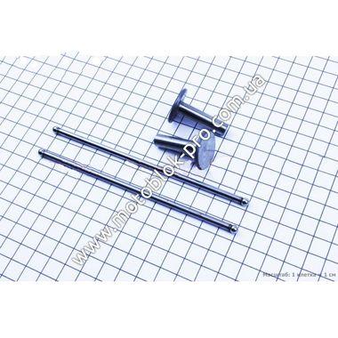 Толкатель + штанга клапана комплект 4 шт (168F/170F)