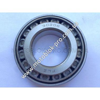 Подшипник 30206 (30x62x17,25) конический роликовый (мототрактор)