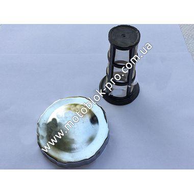 Крышка бака + сетка (под потайную горловину) (R195)