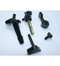 Комплект пластмассовых рычагов карбюратора (5 шт) (168F/170F)