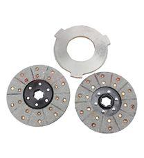 Диск фрикционный 2шт + диск промежуточный к-кт (мототрактор)