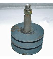 Ролик натяжителя ремня 2х ручейковый (12 колесо) (мототрактор)