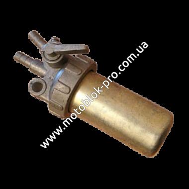 Топливный кран (стакан железный) (ZUBR original) (R190/R195)