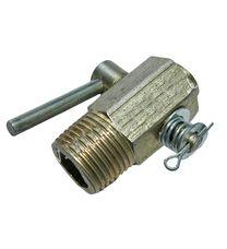 Кран головки слива охлажд.жидкости (R195)