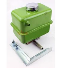Бак гидравлический, нового типа + кронштейн (мототрактор)