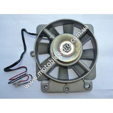 Вентилятор в сборе с генератором 1GZ90 (R195)