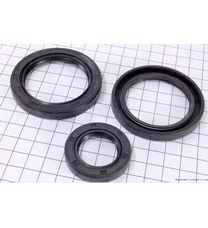 Сальники полуоси (45x62x10-2шт, 25x40x7-1шт) комплект (178F/186F)