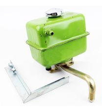 Бак гидравлический, старого типа + кронштейн (мототрактор)