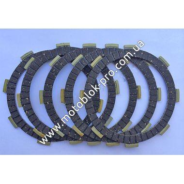 Комплект дисков сцепления (5 шт) (178F/186F)